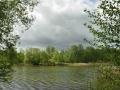 Falkenhagener See Wasserblick mit Wolken