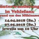 Vehlefanz Kräuterwanderung 04/2019